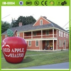 2014 Newly style Inflatable apple for advertisment/promotion
