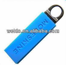 Guangzhou custom made rubber zipper pull for clothing or handbag
