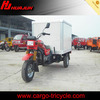 cheap gas enloased adults motorized electric tricycle with cargo box