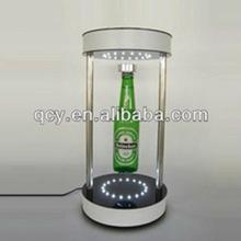 Shenzhen professional manufacturer of acrylic magnetic floating bottle display