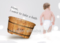 Tamaño personalizado bebé bañera, tamaño personalizado para bañera para bebés, personalizar el tamaño de la bañera para niños