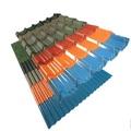 Color material techos precio / ppgi chapa ondulada