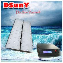 Promotion! Bridgelux 3W high efficiency aquarium led light with small controller, ultra thin,120cm/48''/4ft, DSunY