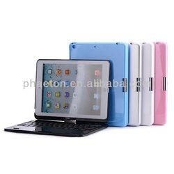 Bluetooth keyboard for ipad air 360 rotation wireless keyboard for ipad5