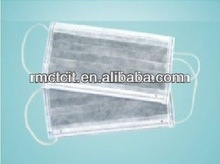 healthcare disposable pp nonwoven face mask with ear loop surgical active carbon face mask