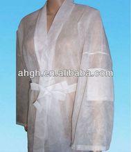 Disposable non woven SPA message kimono with pocket