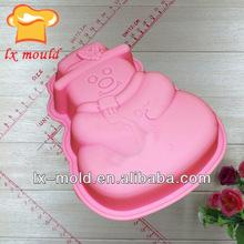 Santa Claus silicone mold for soap