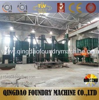 Resin Sand Production Line For CastIron