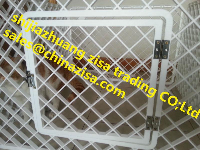 plastic pet dog cage