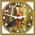 Christian Supawood Puzzle Face Quartz Wall Clock