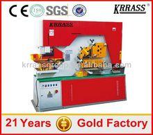 IN STOCK KRRASS Q35Y Series 16 20 25 30 ton Series Universal Multi function q35y-30 hydraulic iron cutting machine