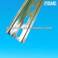 35x7.5 standarnd alumínio trilho din para elétrica appratus instalação