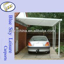 100% Anti-UV steel car shelter for car parking