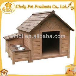 Outdoor Dog Kennel Wholesale With Storage & Feeder