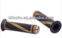 "7/8"" Handle Bar Hand Grips For Kawasaki ZX750 ZX900 Z1000 ER6N ER6F Gold 14B"