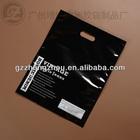2014 New Style Eco-friendly PE Material Printed Plastic Die Cut Bag