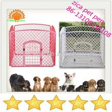 folding plastic puppy pet dog cage /pen