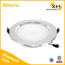 IP44 Decorative dimmable high power china cob 9w led downlight