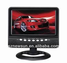 Mini portable TV dvb-t with FM radio/usb port