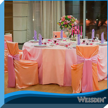 Weisdin 2014latest resturantr damask chair covers chair sash China wholesale