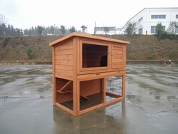 Hot selling Wooden Rabbit House Pet House BPR107