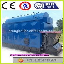 full combustion steam TEM.194/204/225 deg C wood/coal/biomass fuel dzl boiler