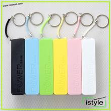 2014 2200mah/2600mah new keychain perfume design power bank for smart phones