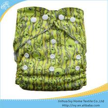 Impreso de algodón para adultos pañales diarios