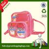 Transparent PVC Backpack Bag in Colorful Trim GREAT