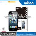 Celular del teléfono para el iPhone 5 laminado película protectora oem / odm ( arriba claro )