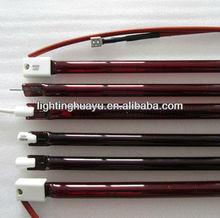 Quartz IR Heating lamp ruby color