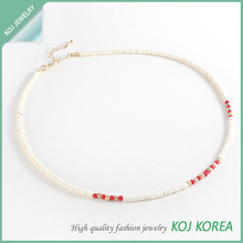 2014 Summer New Designs / Fashion beeds necklace, wholesale accessory market,costume jewelry, high quality accessory in Korea