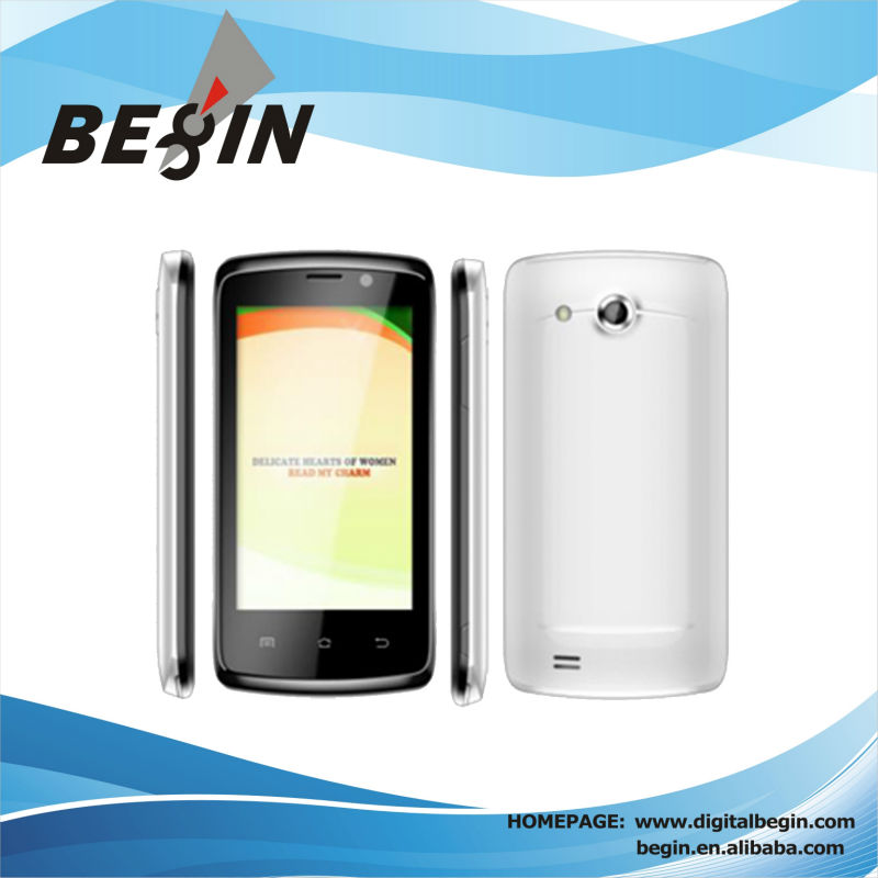 S480 4.0 inch new arrival dual core mtk6572 no brand android phones