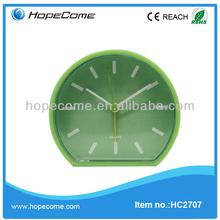 (HC2707) new plastic alarm clock table clock with good quality desk flip clock