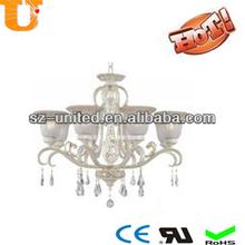 crystal light chandelier parts