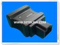 2014 J1962/OBDII OBD Male to Female Adapter HONDA 3PIN AUTO ADAPTER for Car Diagonosis