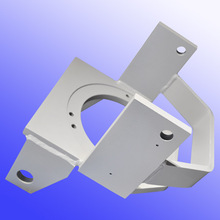Custom sheet metal cabinet shelf bracket fabrication with cnc machining by China OEM