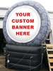 hot selling inflatable outdoor giant tire for advertising