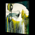 Figura abstracta pintura