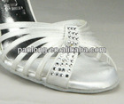 Popular 7.5cm high heel girls' wedding party evening dance sandal 743