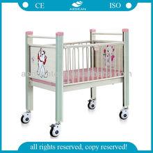 AG-CB004 Color Optional Hospital Metal Frame Medical Child Bed