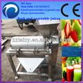 Comerciais de parafuso frutas juice extractor/parafuso industrial espremedor de frutas