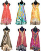 Wholesale Bulk 50 Pcs Womens Lots Stylish Summer Dresses Long Wrap Sexy Beach Dress