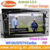 "Erisin ES9681A 7"" ANDROID 4.0.4 CAR DVD GPS WiFi 3G OPEL VAUXHALL CORSA ASTRA ZAFIRA"