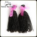 Cheveux naturels produits 2014 haute qualité top vente parfaite nonprocessed indien. profonde vague humaine extension de cheveux de queue de cheval