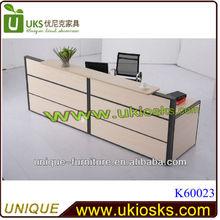 Hot sell beautiful reception counter modern style reception desk best seller office reception counter