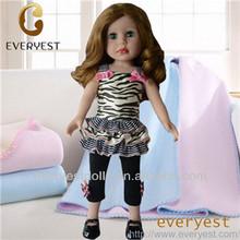 Children love fashion little girl love doll, 18 inch girl dolls