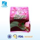 Custom Printed Heat Seal Candy Decorative Flat Bottom Ziplock Plastic Bag