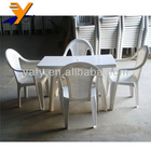 china OEM plastic chairs and tables moulds