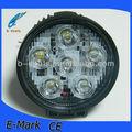 Haute lumière cree 60w ronde animée lumière de travail, offroad lumière pour toutes les voitures